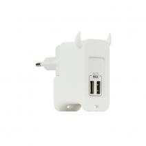 Универсальное сетевое ЗУ Momax U.Bull 2-port USB, Charger