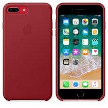 Чехол Apple Leather case для  iPhone 8 Plus/7 Plus