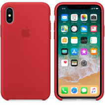 Чехол Apple Silicone Case для iPhone X
