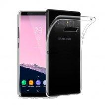 Прозрачный силиконовый чехол для Samsung Galaxy Note 8