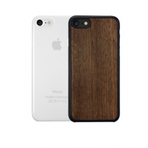 Комплект чехлов Ozaki Jelly + Wood iPhone 8/7