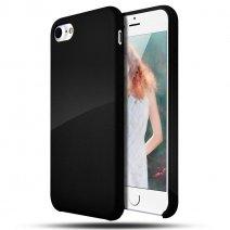 Силиконовый чехол цвета Jet Black для iPhone 7