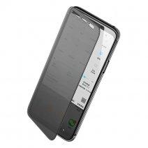 Флип-чехол с полупрозрачной крышкой ROCK Dr. V Series Protection Case для Samsung Galaxy S9+