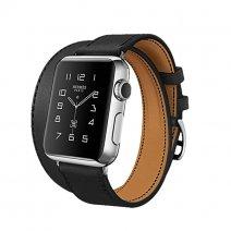 Комплект кожаных ремешков 3 в 1 Rock Genuine Leather Watch Strap Set для Apple Watch 38mm