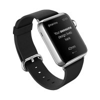 Кожаный ремешок ROCK Genuine Leather Watchband для Apple Watch 42/44mm