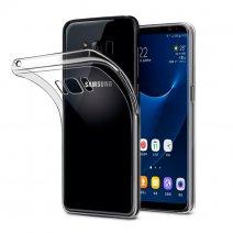 Прозрачный силиконовый чехол для Samsung Galaxy S8+