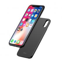Чехол 2 в 1 + беспроводная зарядка и портативный аккумулятор Baseus 1+1 Wireless Charging Backpack Power Bank для iPhone X