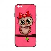 Чехол из TPU и стекла OWL iPhone 5/5S