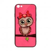Чехол из TPU и стекла OWL для iPhone 7/8