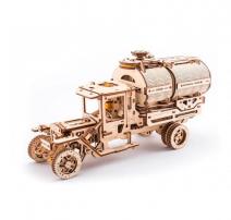 Механический деревянный конструктор Ugears Автоцистерна 70021